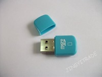 Micro SD Card Reader,TF Card Reader, USB 2.0 Card Reader, free shipping,8887