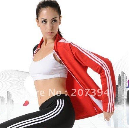 nice ladies jogging suit,gym wear,track suit,sportswear,fitness suit,training wear,sweat suit(3p ...