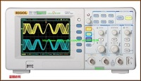 free shipping RIGOL DS1102E DS 1102E Digital storage Oscilloscope 2 Channel 100MHz DSO 1GSa/S