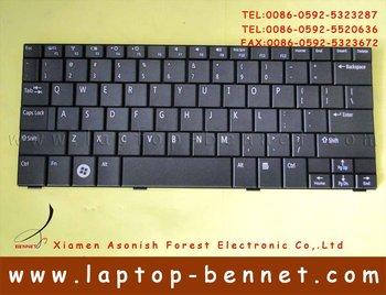 FOR Dell Inspiron Mini 10 10v 1010 1011 Keyboard 0W664N US Version Black