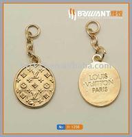 Key chain metal decoration