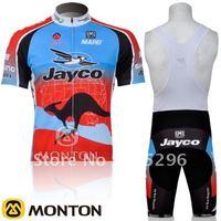 Wholesale 2011 JAYCO Short Sleeve Cycling Jerseys and BIB Shorts Set/Cycling Wear/Cycling Clothing