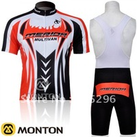 Wholesale 2011 Merida Short Sleeve Cycling Jerseys and BIB Shorts Set/Cycling Wear/Cycling Clothing