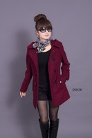 hot sell Free shipping wholesale women's wool jackets fur collar Nepal