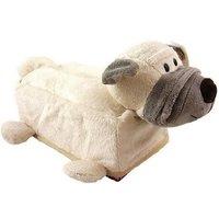 NICI White she-pei dog Tissue Box Case Holder Fit Car