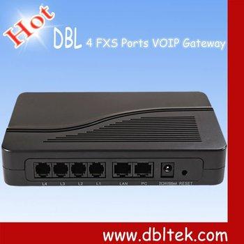 4 Ports-VoIP FXS Gateway