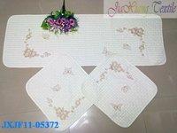 FreeShipping EMS 3pcs/set  anti-slip car seat mat/100% Cotton/High Quality/You can mix all styles