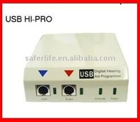 Digital hearing aid programmer with software USB programming device