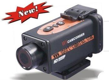 FULL HD 1080P sport camera /action camera AT-29 waterproof 10M  with 2.0'' TFT LCD Screen Free shipping