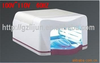 100~110V Uv Lamp /Wholesale Price 45w gel curing uv lamp + 45w uv light + High Quality +Free Shipping(China (Mainland))