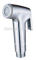 High Plastic Shattaf Head / Handheld Bidet Diaper Sprayer / Muslin Toilet Shower for women  TSP076B Full Chrome