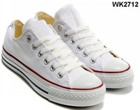wholesale - -2012  new arrive classic , sneaker , canvas shoes low style white color