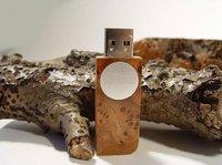 Your LOGO 1GB/2GB/4GB/8GB/16GB OEM Wooden USB Flash Drive Free Shipping