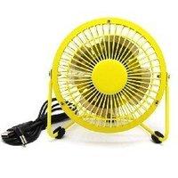 Free Shipping Novelty Gift Items ,yellow Mini USB Fan, USB Cooler, Computer Fan, PC USB Fan