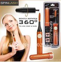 SpinLash Electric Spinning 360 Eyelash Curler Roller Mascara As Seen On TV Free Shipping 20pcs