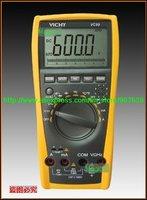 Vichy VC99 3 6/7 Multimeter analog bar C F better FLUKE 17B+free shipping