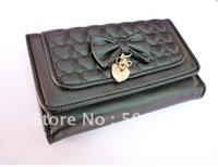 Free shipping Women Wallet,fashion wallet,leather wallet,bags,purse,medium model wallet, mix color 10pcs/lot XZ-QB101