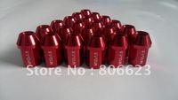 16 LITEWEIGHT RED 12x1.5 LUG NUTS PRELUDE 4-LUG ship from USA