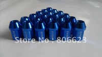 NEW 24 BLUE 12x1.5 WHEEL LUG NUTS CHEVROLET COLORADO