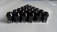 NEW 24 BLACK 12x1.5 WHEEL LUG NUTS TACOMA 4WD