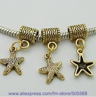 free shipping 39 pcs/lot,wholesale fashion lovely star charms antique gold charms alloy charms jewelry accessories