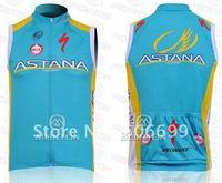 2011 ASTANA Sleeveless Cycling Jerseys/Cycling Wear/Cycling Clothing/Bike Jersey
