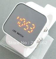 Free shipping 2011+The LED watch/couples the male and female fashion watch/Mirror Watch
