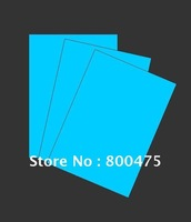 A2 size Blue color glow photo paper, glow in the dark photo paper, glow ink jet photo paper, luminescent paper , free shipping