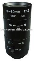CCTV Lens /  Manual Vari-Focal 6-60 mm / Camera Lens / Lenses/ Manual Lens 6-60mm