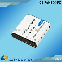 CAS. NP-40 camera lithium battery