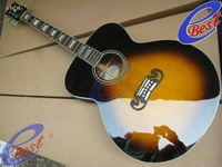 Wholesale acoustic SJ200 42 inch natural vintage sunburst electric Guitar 2011