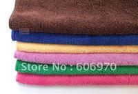 Wholesale - Car Detailing Polishing Scrubing Cloths Microfiber Cleaning Cloth 30*70 cm blue big size 20/lot