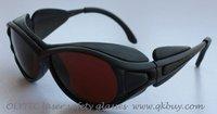 laser safety glasses 190-540nm & 800-2000nm, OLY-LSG-1, CE O.D 4+, High V.L.T %
