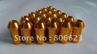 20 GOLD 12x1.5 WHEELS LUG NUTS MAZDA 6 MAZDA6