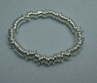 Free Shipping 925 Sterling Silver link Bracelet 925 Silver Jewelry.925 Silver Bracelet,Wholesale Fashion Jewelry LKNL001