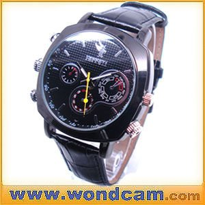 New 4GB HD 1080P Watch Camera Waterproof Watch DVR with AV out/in(China (Mainland))