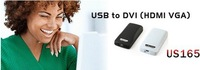 2011 NEW USB To VGA/DVI/HDMI Multi-Display Adapter Converter HOT SALE FAST POST
