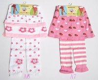 12pcs/lotFree Shipping Cute design Fashion Baby Skirt pant, Baby Skirt, Children Pant, Baby pants