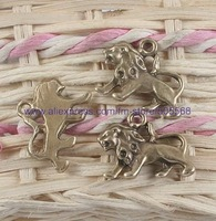 free shipping 55pcs/lot antique bronze tone  charms fashion charms jewelry  finding pendant jewelry accessories