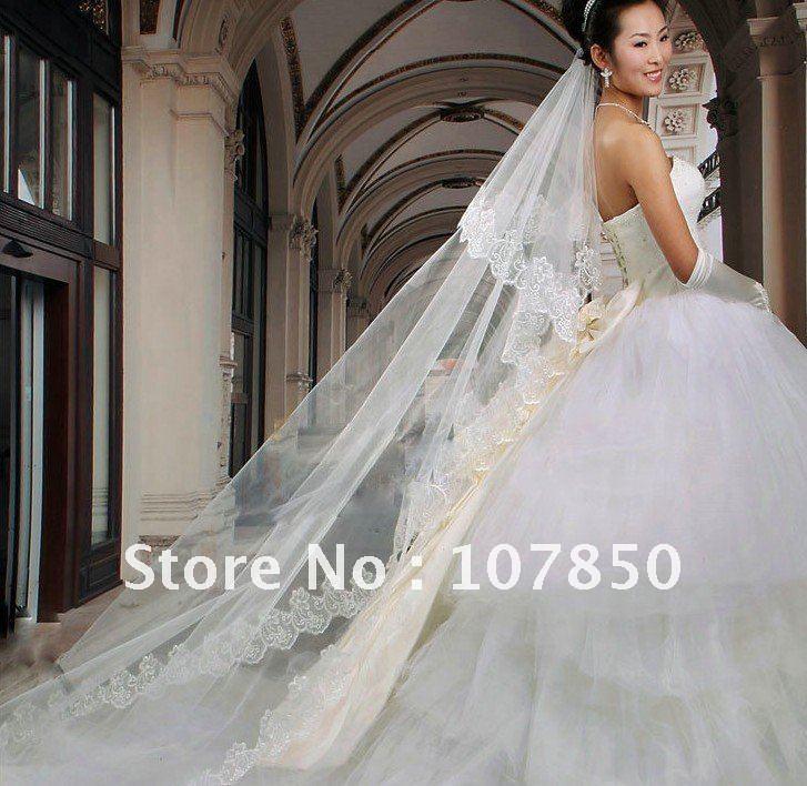 discountwholesaleretail wedding veils2011 fashion WHITE bridal veils