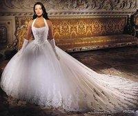 free Satin Corded Edge Bridal Veils/Satin Corded Edge Bridal Veils Shiny Sweetheart Court Train Wedding Dress Floral Gownbridal
