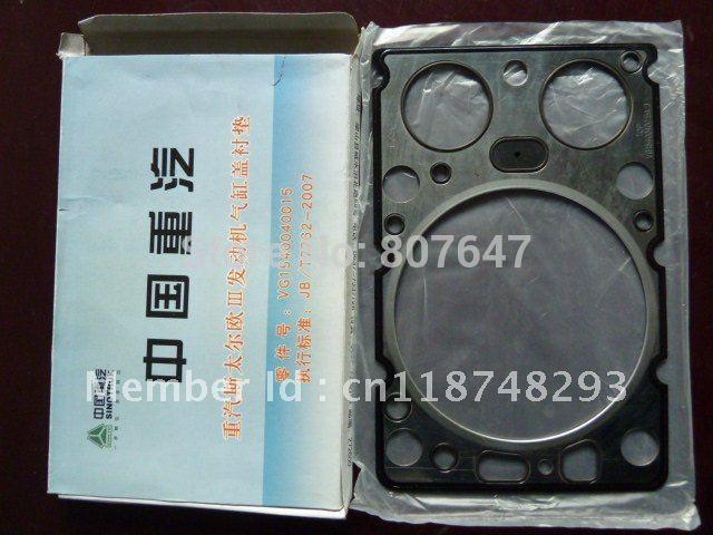truck spare parts VG1540040015A Cylinder head gasket of EGR for CNHTC, HOWO / STR / SINOTRUK / four-valve engine, STR engine(China (Mainland))