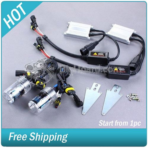 55W HID Xenon Ballast 9006/HB4 6000K lights + 2 Bulbs #SBU4005-404(China (Mainland))