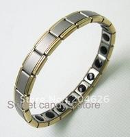 magnetic germanium health bracelets anion scalar bracelets 32pcs/lot