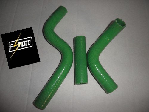 FIT FOR 1998-2008 KX85 KX 85 Silicone Radiator Hose 98-08 green KIT(China (Mainland))