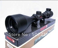 GAMO 3-9x56E Red illuminated Rifle AIRSOFT HUNTING Gun Scope +Free Mounts