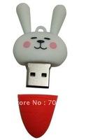 HOT Radish Rabbit usb drive 2GB  4GB  8GB free shipping usb flash disk