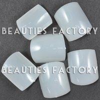 018 Free shipping 500pcs Natural False TOE French Nail Pedicure