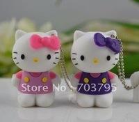 HOT Hello kitty usb drive 1/2/4/8/16/32GB free shipping usb flash disk
