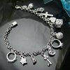 Wholesale 925 silver Bracelet, 925 silver jewelry Bracelet / 925 silver Bracelet with pendant free shipping LKB065